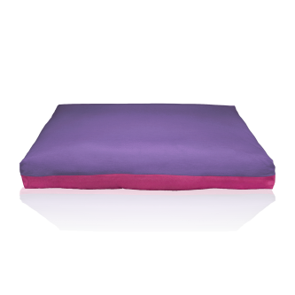 fodera materasso viola ciclamino