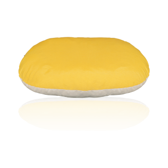 fodera ovale giallo beige